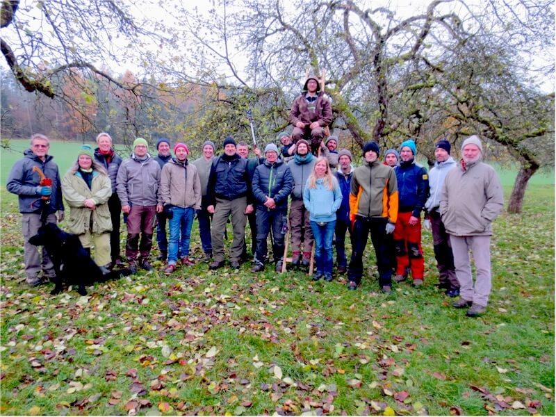 """Kurs zum """"Zertifizierten Landschaftsobstbaumpfleger"""" 2019"""